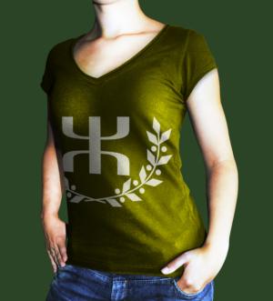 T-shirt aux symboles kabyles